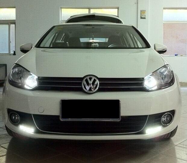 Дневные ходовые огни VW Golf 6, фото 12