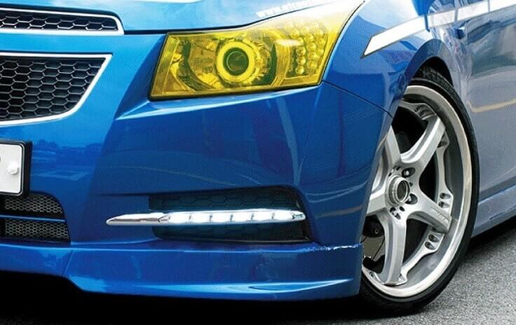 Дневные ходовые огни без ПТФ Chevrolet Cruze L
