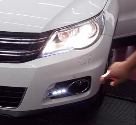 Дневные ходовые огни VW Tiguan (Китайской сборки 2007-2011)