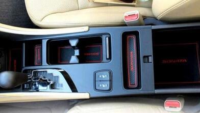 Коврики в подстаканники и в дверные ниши Hyundai Sonata (2009-2014), фото 4
