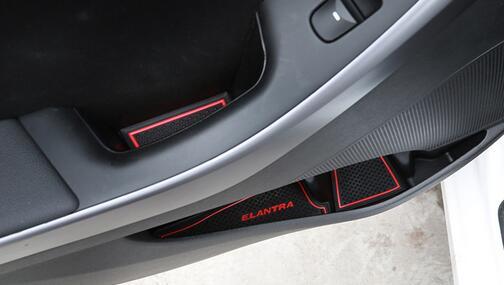 Коврики в подстаканники и в дверные ниши Hyundai Elantra (18 ковриков), фото 5