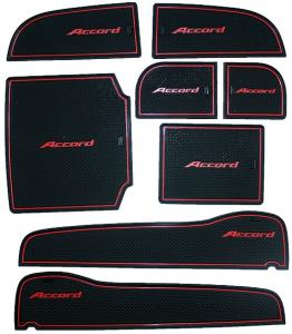 Коврики в подстаканники и в дверные ниши Honda Accord (8 поколение дорестайлинговое)