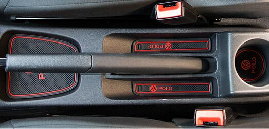 Коврики в подстаканники и в дверные ниши VW Polo (2014-2016), фото 4