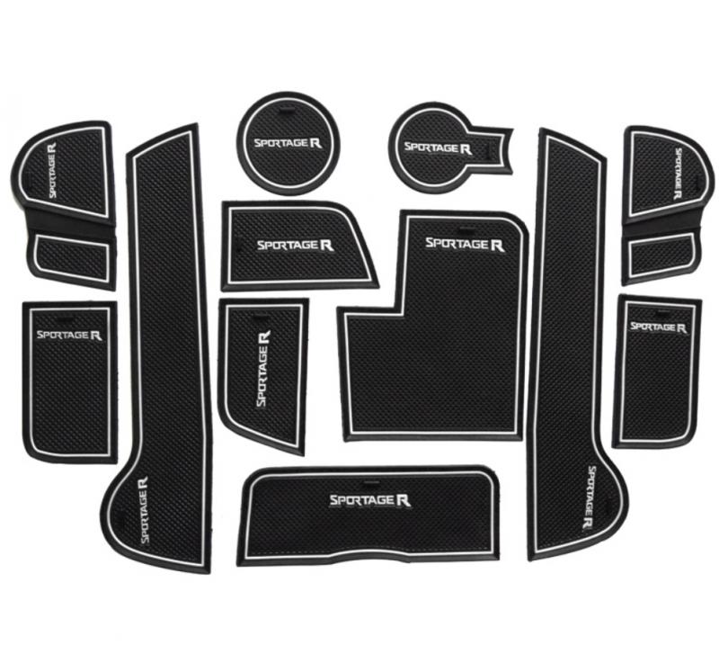 Коврики в подстаканники и в дверные ниши Kia Sportage III, фото 2