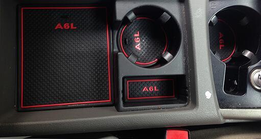 Коврики в подстаканники и в дверные ниши Audi A6, фото 4