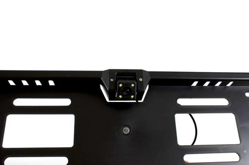 Камера заднего вида в рамке номерного знака, фото 3