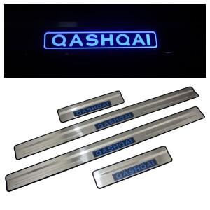 Накладки на пороги Nissan Qashqai 2007-2014