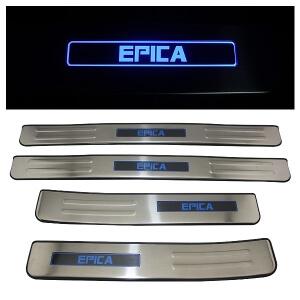 Накладки на пороги Chevrolet Epica 2006-2012