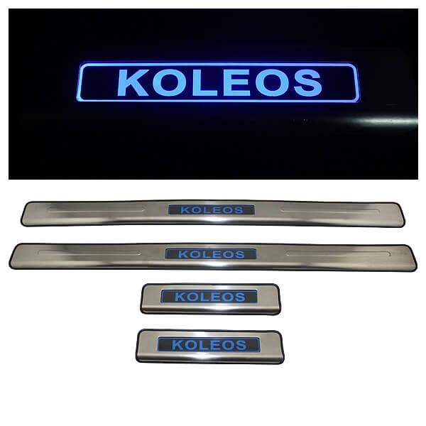 Накладки на пороги Renault Koleos 2011-2016