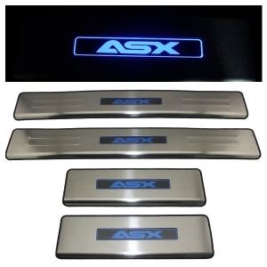 Накладки на пороги Mitsubishi ASX 2010-2013