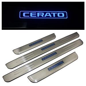 Накладки на пороги KIA Cerato 2004-2006