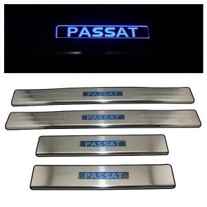 Накладки на пороги VW Passat 2011-2015