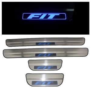 Накладки на пороги Honda Fit