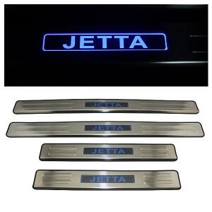 Накладки на пороги VW Jetta 2011-2014