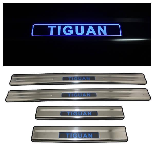 Накладки на пороги VW Tiguan