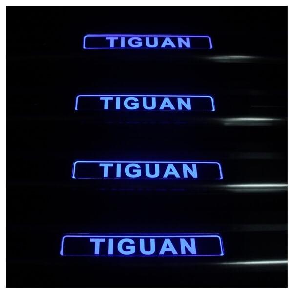 Накладки на пороги VW Tiguan, фото 3