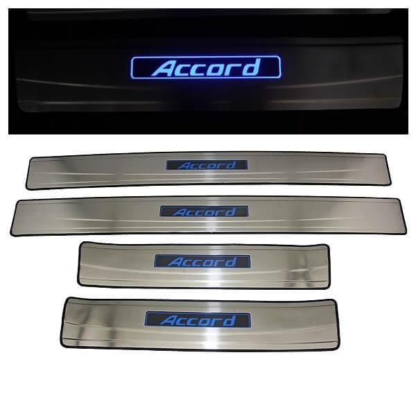 Накладки на пороги Honda Accord 7 2002-2007