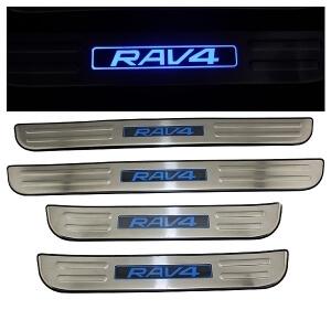 Накладки на пороги Toyota Rav4 2006-2012