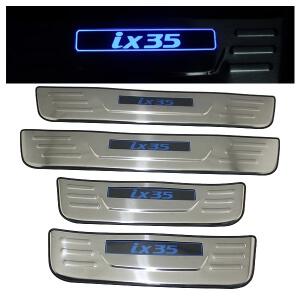 Накладки на пороги Hyundai IX35 2010-2015