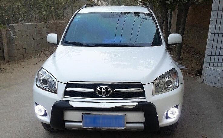 Дневные ходовые огни Toyota Rav4 (2010-2013 CA30), фото 6