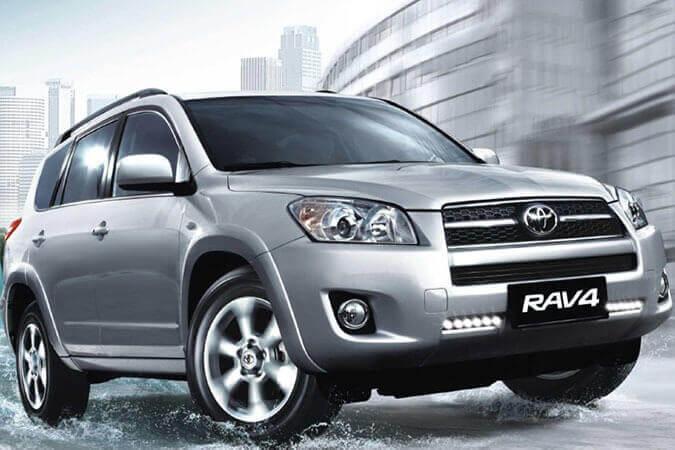 Дневные ходовые огни Toyota Rav4 (2006-2009)