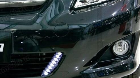 Дневные ходовые огни Toyota Corolla E140/E150