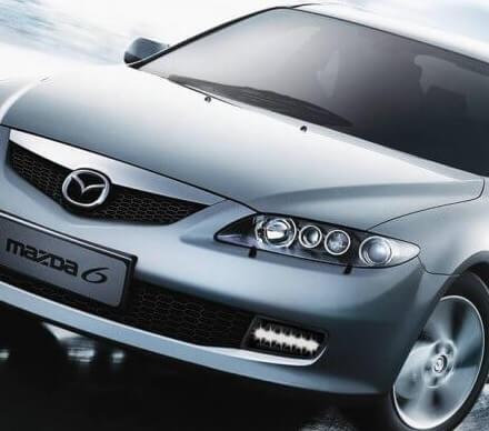 Дневные ходовые огни Mazda 6 GG рестайлинг (1 тип)
