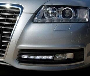 Дневные ходовые огни Audi A6 (2008-2010)