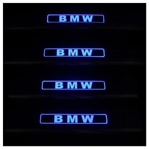 Накладки на пороги BMW X6 2008-2014