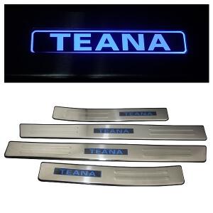 Накладки на пороги Nissan Teana 2008-2014