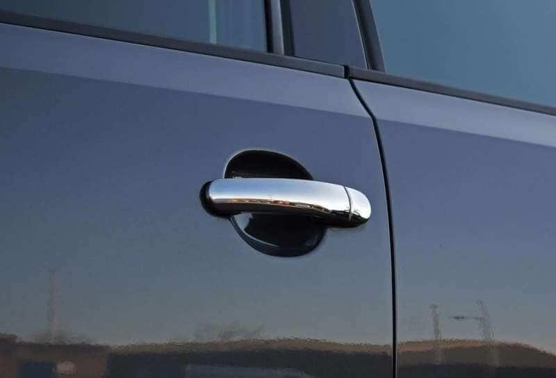 Хромированные накладки на ручки Volkswagen Polo, фото 6