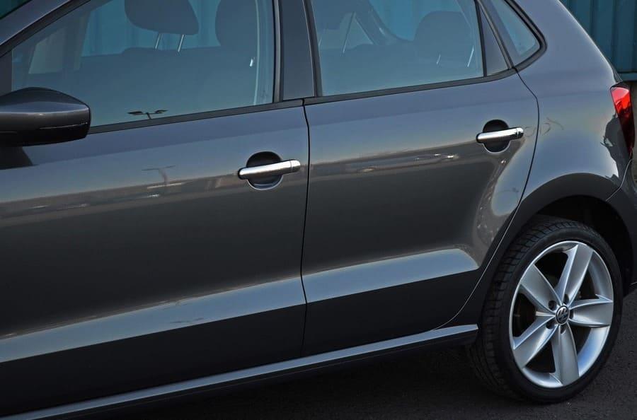 Хромированные накладки на ручки Volkswagen Polo
