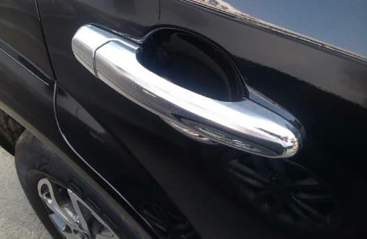 Хромированные накладки на ручки Hyundai Tucson 1