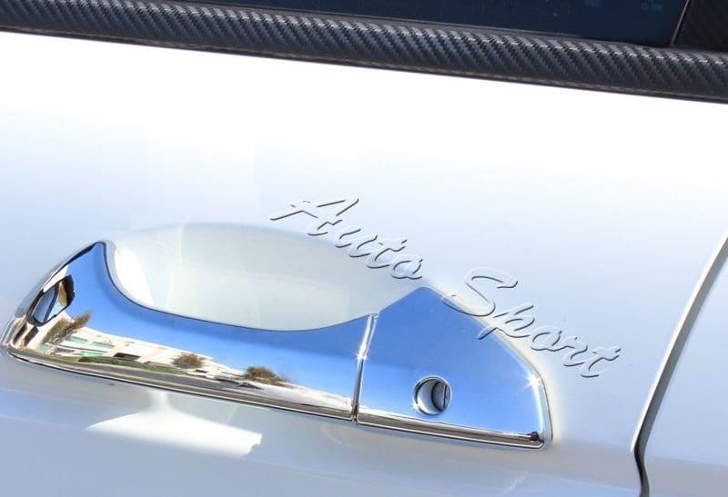 Хромированные накладки на ручки Honda Accord 8