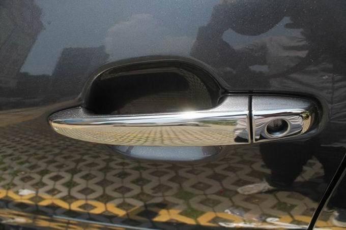 Хромированные накладки на ручки Toyota Camry 2006-2011, фото 10