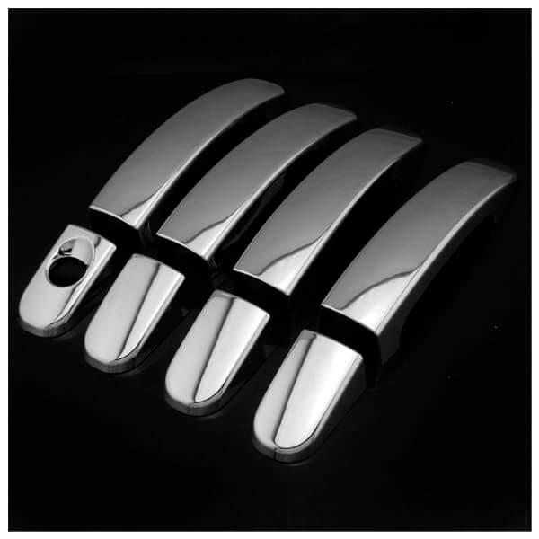 Хромированные накладки на ручки Ford Focus 2005-2015, фото 4