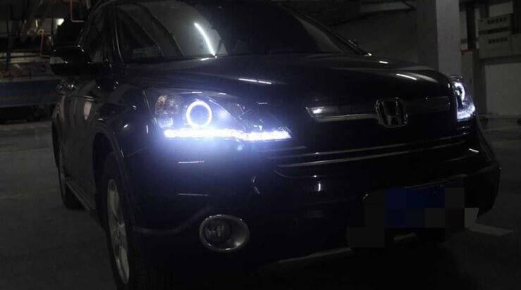 Ангельские глазки на Honda CR-V 2012-2015, фото 3