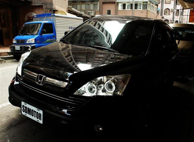 Ангельские глазки на Honda CR-V (2007-2010)