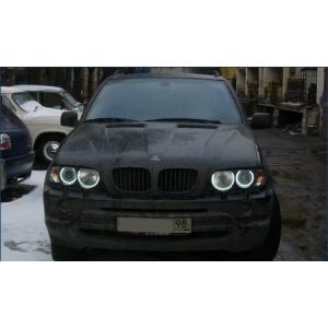 Ангельские глазки на BMW X5 (E53)