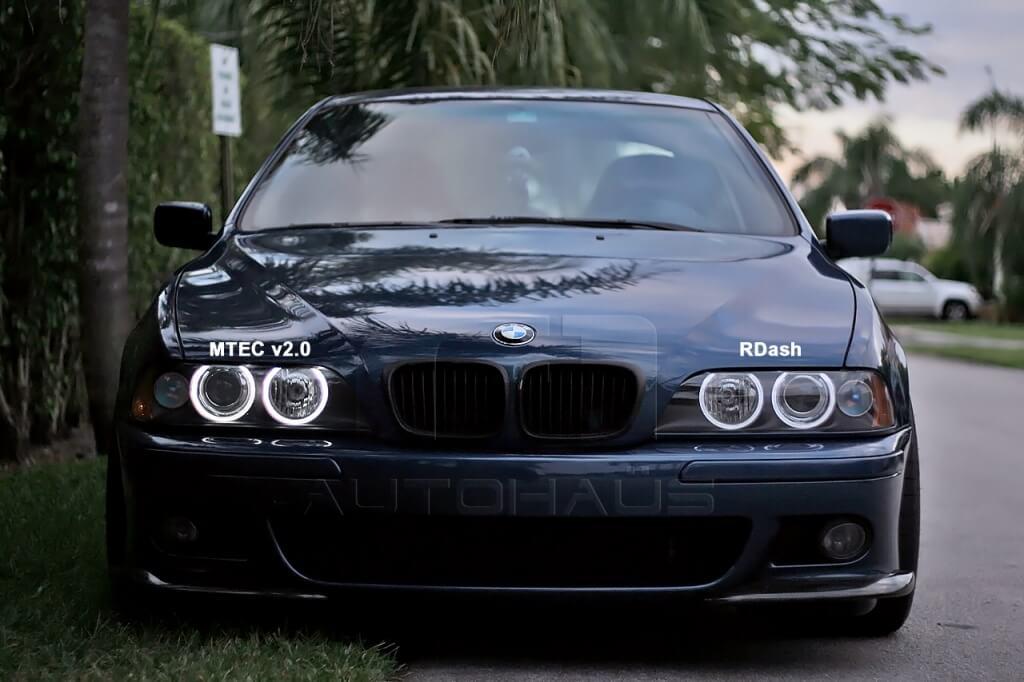 Ангельские глазки на BMW E39