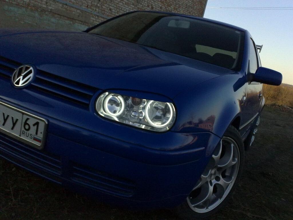 Ангельские глазки на Volkswagen Golf 4