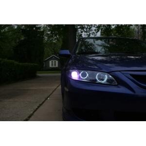 Ангельские глазки на Mazda 6 GG