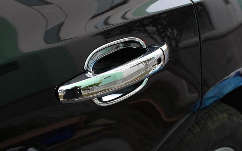 Хромированные накладки на ручки Audi A4