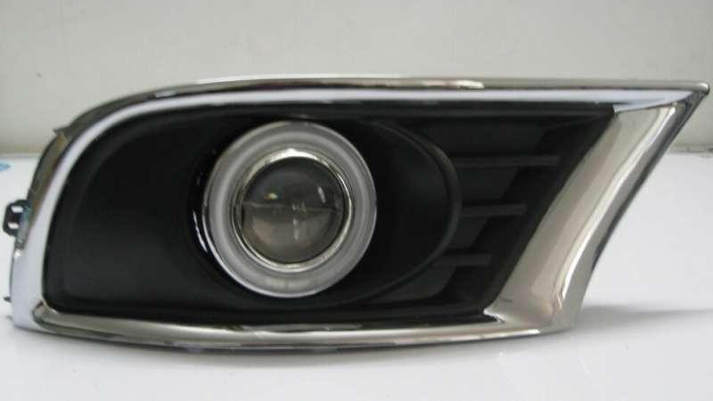 Противотуманные фары с ангельскими глазками Toyota Camry (Американка)