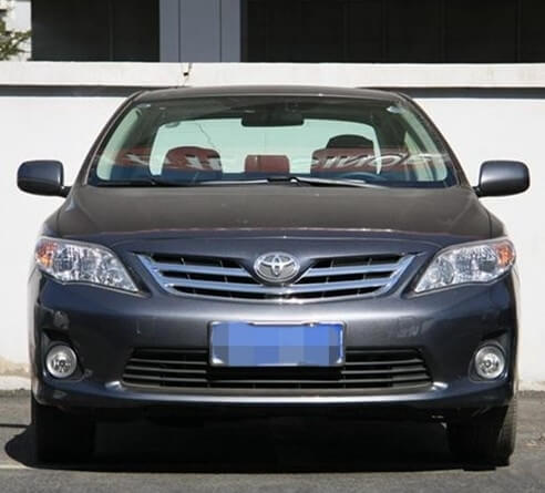 Противотуманные фары с ангельскими глазками Toyota Corolla, фото 2