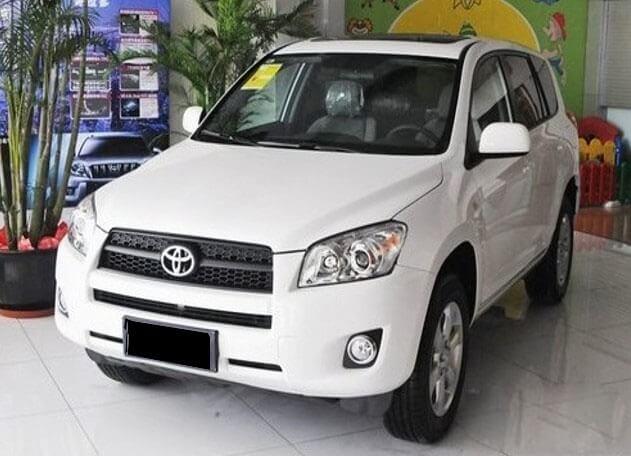 Противотуманные фары с ангельскими глазками Toyota Rav4 (2009-2012), фото 2