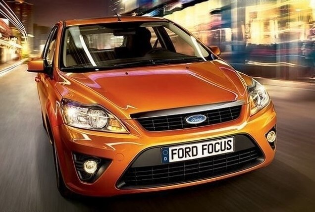 Противотуманные фары с ангельскими глазками Ford Focus Hatchback, фото 2
