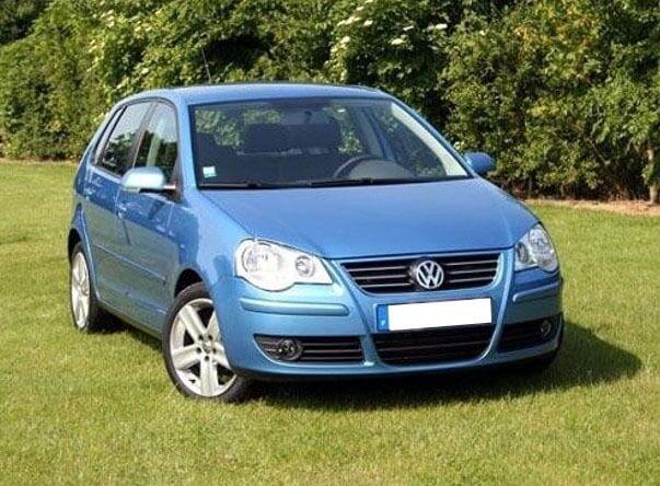 Противотуманные фары с ангельскими глазками VW Polo (2005-2009), фото 2
