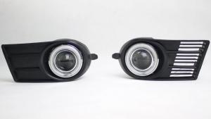 Противотуманные фары с ангельскими глазками Suzuki Swift (2004-2010)
