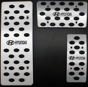 Накладки на педали Hyundai Elantra (автомат ST-079)